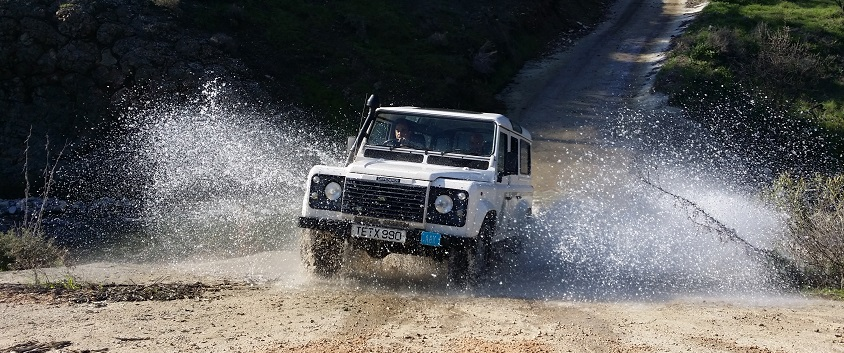 Cyprus things to do in January - Winter Jeep Safari