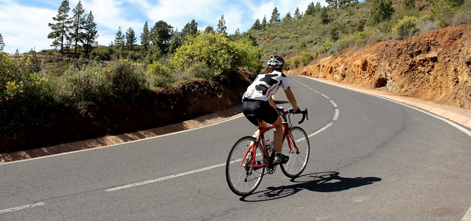 Limassol weather in February is great for cycling at Troodos mountains
