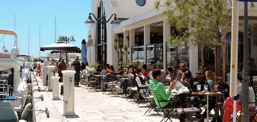 Enjoy warm amd sunny weather at Cyprus during April