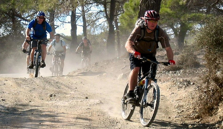 Nicosia weather in June and biking at Troodos mountains