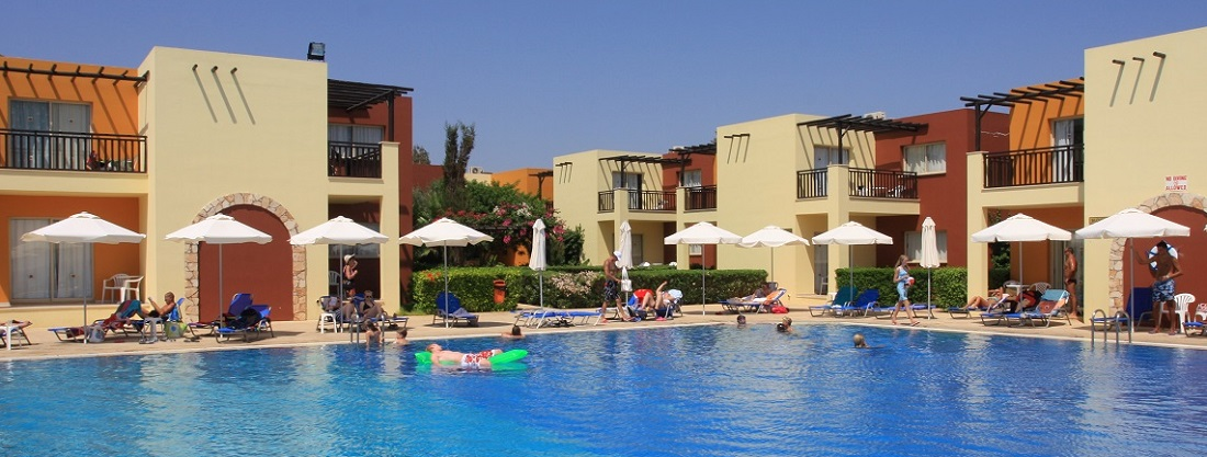 Holiday hotel at Paphos in June