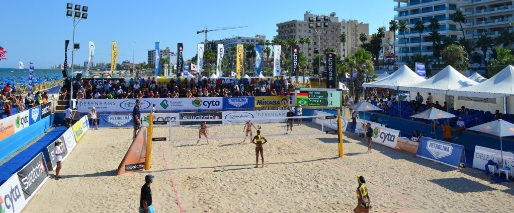 Larnaca beach volley