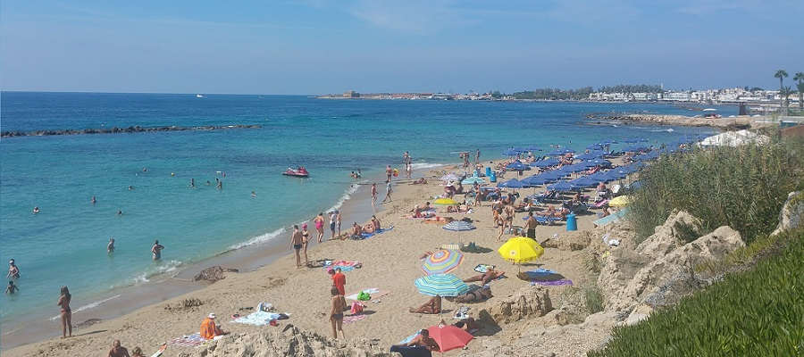Cyprus beach weather in October