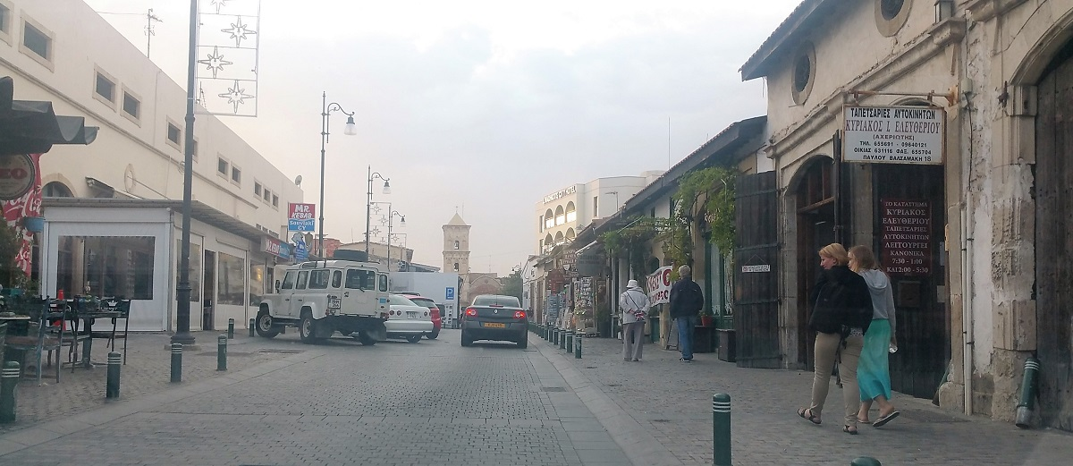 Larnaca weather in November and what to wear
